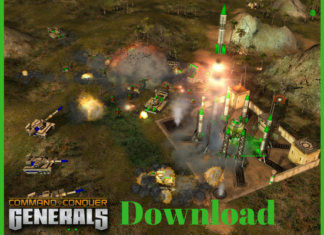 Download Command and Conquer Generals game
